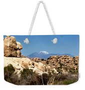 Snow In The Desert Weekender Tote Bag