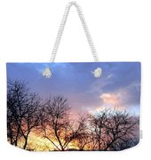 Snow In The Distance Weekender Tote Bag