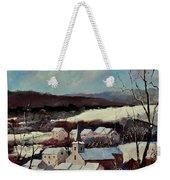 Snow In Vittrival Weekender Tote Bag