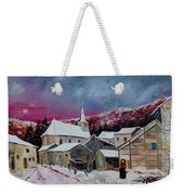 Snow Is Falling Weekender Tote Bag