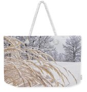 Snow Laden Weekender Tote Bag