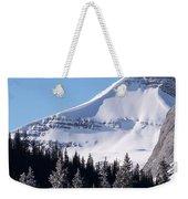 Snow Ledge Weekender Tote Bag
