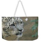 Snow Leopard 8 Weekender Tote Bag