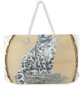 Snow Leopard - Renewed Perception Weekender Tote Bag