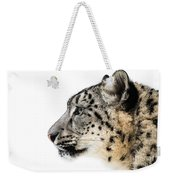 Snow Leopard Xv Weekender Tote Bag