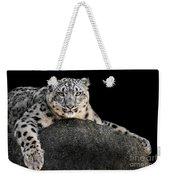 Snow Leopard Xxii Weekender Tote Bag
