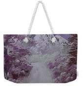 Snow Magic Weekender Tote Bag