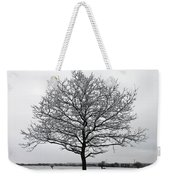Snow On Epsom Downs Surrey Uk Weekender Tote Bag