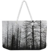 Snow On Rocks Weekender Tote Bag
