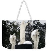Snow On The Angels  Weekender Tote Bag