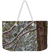 Snow On The Branches Weekender Tote Bag
