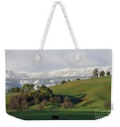 Snow On The Great Western Tiers, Tasmania Weekender Tote Bag