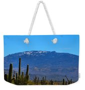 Snow On The Mountain Weekender Tote Bag