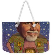 Snow On The Roof... Weekender Tote Bag