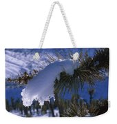 Snow Ornament - Joshua Tree Weekender Tote Bag