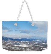Snow Overlook Weekender Tote Bag
