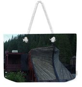 Snow Plow Weekender Tote Bag