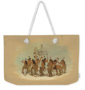 Snow Shoe Dance. Ojibbeway Weekender Tote Bag
