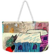 Snow Shovel Weekender Tote Bag