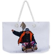 Snow Sports That Can Be Done With Your Dog Weekender Tote Bag