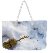 Snow Sprouts Weekender Tote Bag