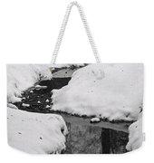 Snow Stream 2 Weekender Tote Bag