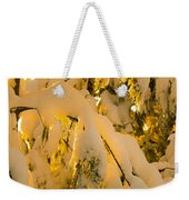 Snow The Day After Weekender Tote Bag