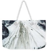 Snow Then Land Slide Weekender Tote Bag