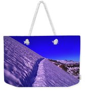 Snow Trail  Weekender Tote Bag