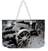 Snow Wagon Weekender Tote Bag