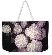 Snowball Bouquet Weekender Tote Bag