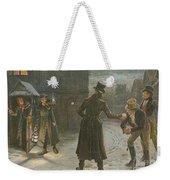 Snowballing The Watchmen Weekender Tote Bag