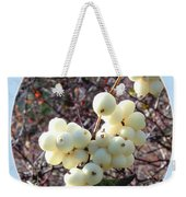 Snowberry Cluster Weekender Tote Bag