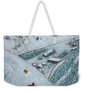 Snowbird Steeps Weekender Tote Bag by Michael Cuozzo