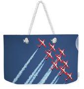 Snowbirds In Flight Weekender Tote Bag