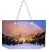 Snowbow Weekender Tote Bag