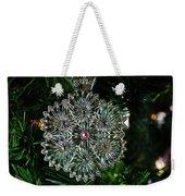 Snowcrystal Ornament 2016 Weekender Tote Bag
