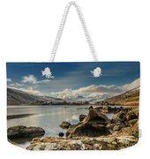 Snowdon From Llynnau Mymbyr Weekender Tote Bag