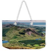 Snowdon Moutain View Weekender Tote Bag
