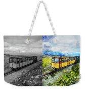 Snowdon Train Weekender Tote Bag