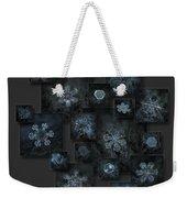Snowflake Collage - Dark Crystals 2012-2014 Weekender Tote Bag