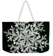 snowflake I Weekender Tote Bag