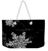 Snowflake Jewels Weekender Tote Bag