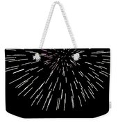 Snowflake Weekender Tote Bag by Phill Doherty