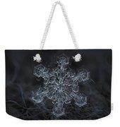 Snowflake Photo - Complicated Thing Weekender Tote Bag