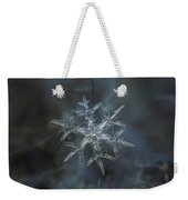 Snowflake Photo - Rigel Weekender Tote Bag