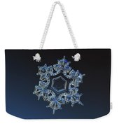 Snowflake Photo - Spark Weekender Tote Bag