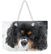 Gentle Snow Weekender Tote Bag