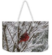 Snowing Weekender Tote Bag