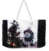 Snowman And Tree Pa Weekender Tote Bag